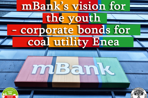 mBank's vision for the youth - corporate bonds for coal Enea