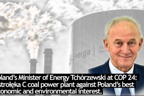 Minister of Energy finally admits it - Ostrołęka C unnecessary and economically harmful!